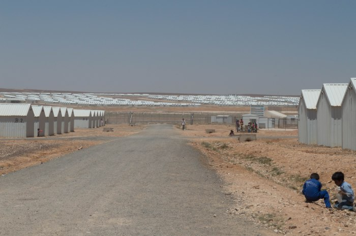 Azraq view from v5 road